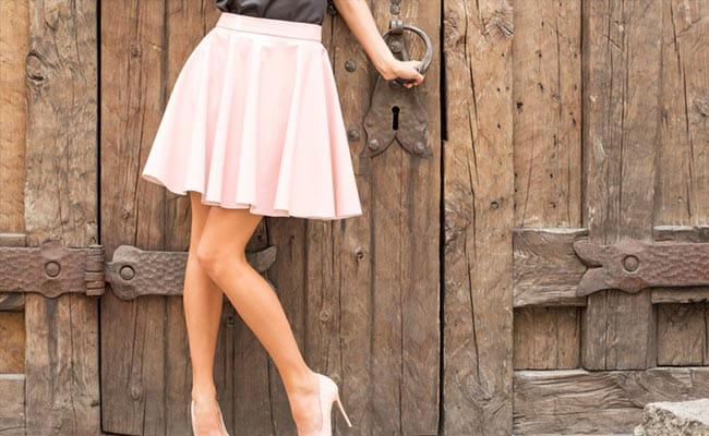 Solid Pleated Skirts with Playful Hemlines and Waistlines